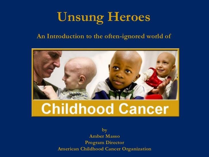 Childhood cancer presentation