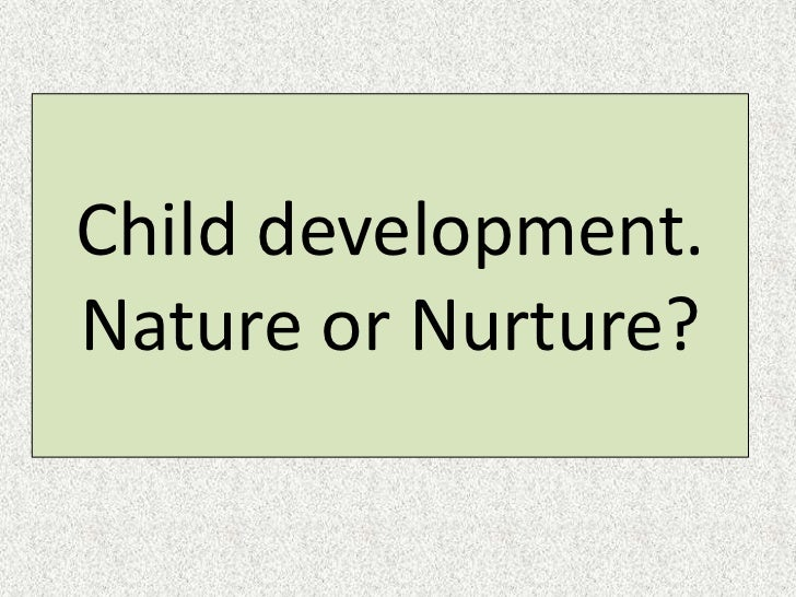 What does 'impeded by demands of nurturing' mean?
