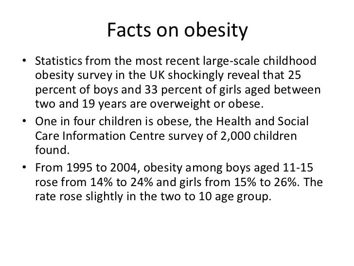 Informative speeches on childhood obesity