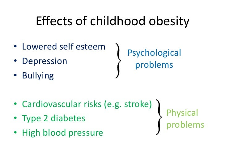 essay children obesity