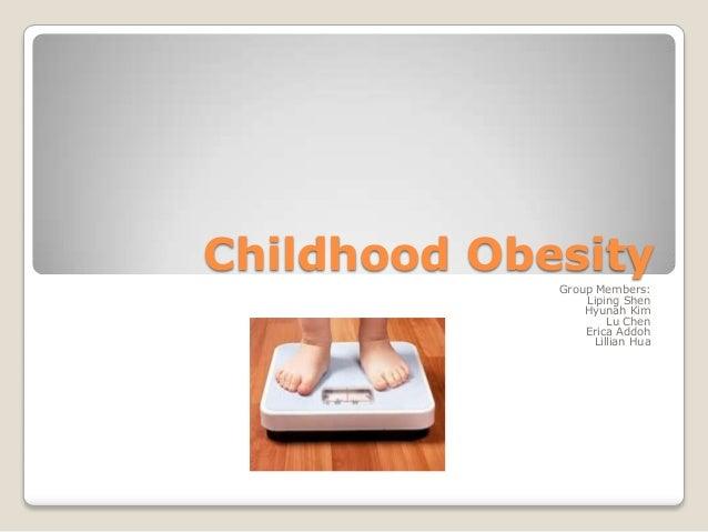 Childhood obesity final
