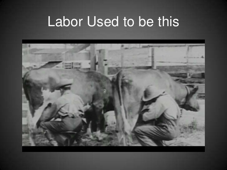 Labor Used to be this<br />