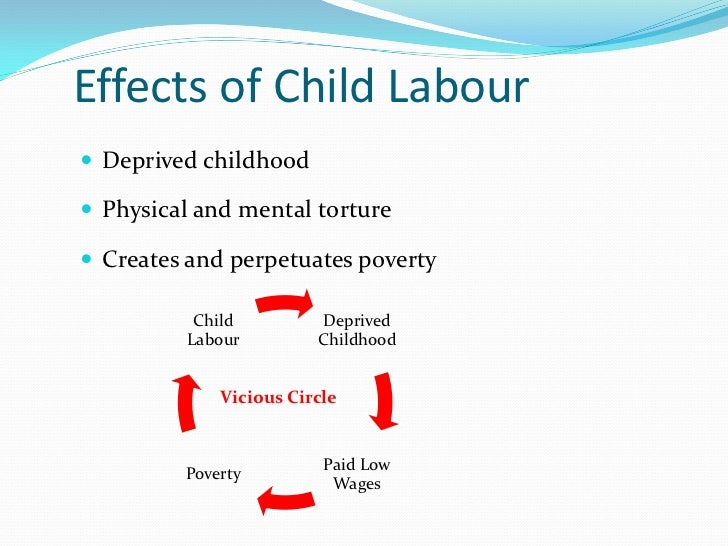 outline for child labor