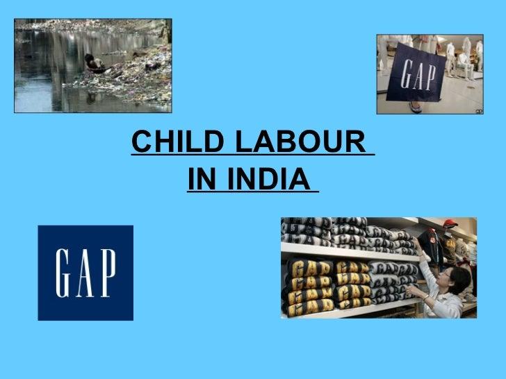 Child Labour - GAP