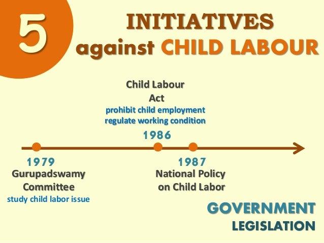 Child Labour Act 1986 Logo Child Labour Act Prohibit