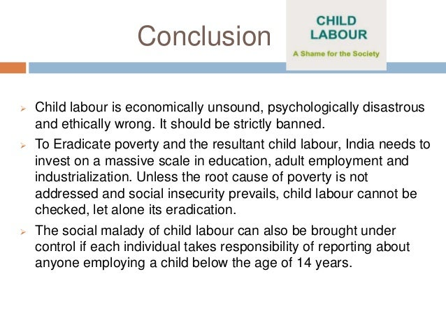child labour not always wrong essay