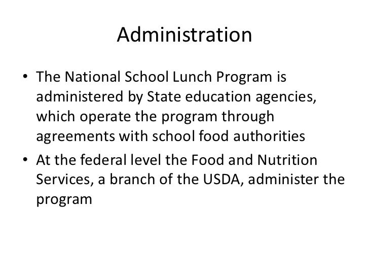 national school lunch program essay Below is an essay on school lunch from anti essays, your source for research papers, essays, and term paper examples  the national school lunch program obesity .