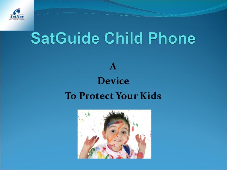 A Device To Protect Your Kids
