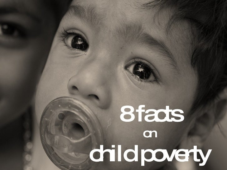 8 facts on child poverty