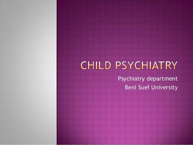 Psychiatry department Beni Suef University