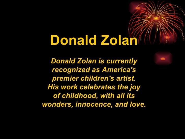 Children Donald Zolan