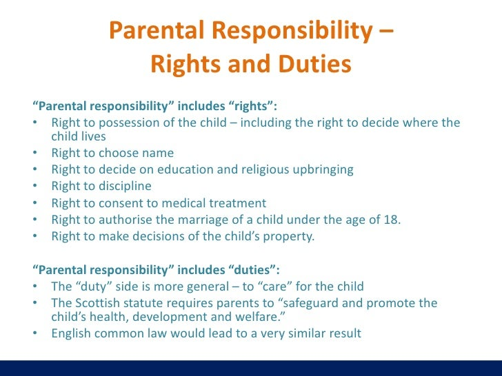essay on responsibility of children towards parents So in parent-child relationship the rights of parents are the obligations (duties) of the children and vice versa, the rights of children are obligations (duties) of parents islam clearly defines the rights of parents (which mean duties of children) and obligations of parents (which means rights of children.