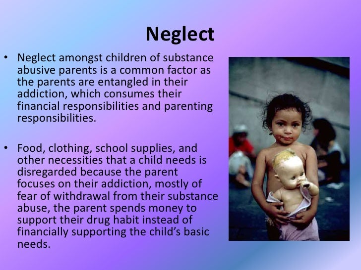 parental negligence Once children are in school, personnel often notice indicators of child neglect such as poor hygiene, poor weight gain, inadequate medical care, or frequent absences from school consider the possibility of neglect when the parent or other adult caregiver.
