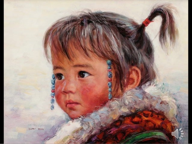 Children-Chinese Painter Barry Yang