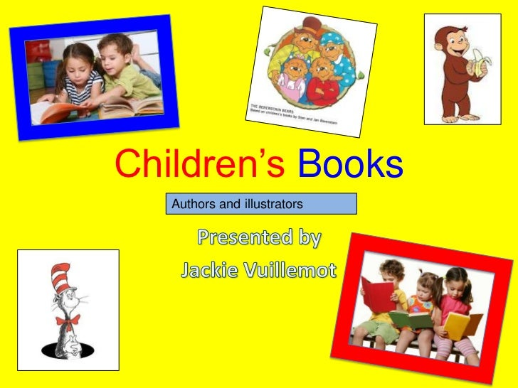 Children's Books   Authors and illustrators