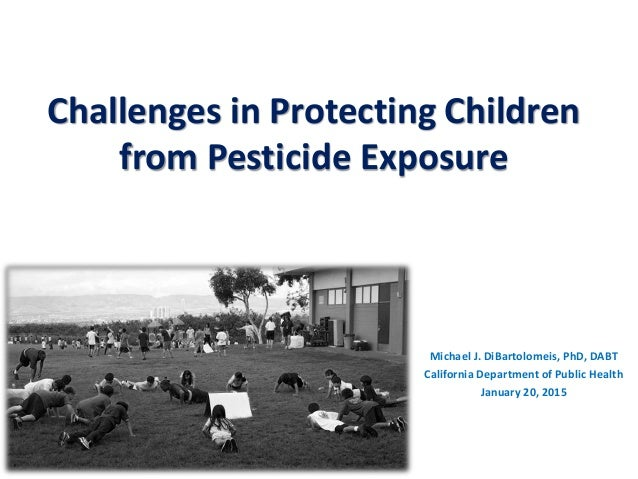 pesticides and human health in california essay