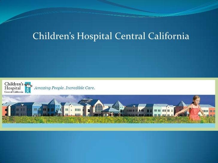 Children's Hospital Central California