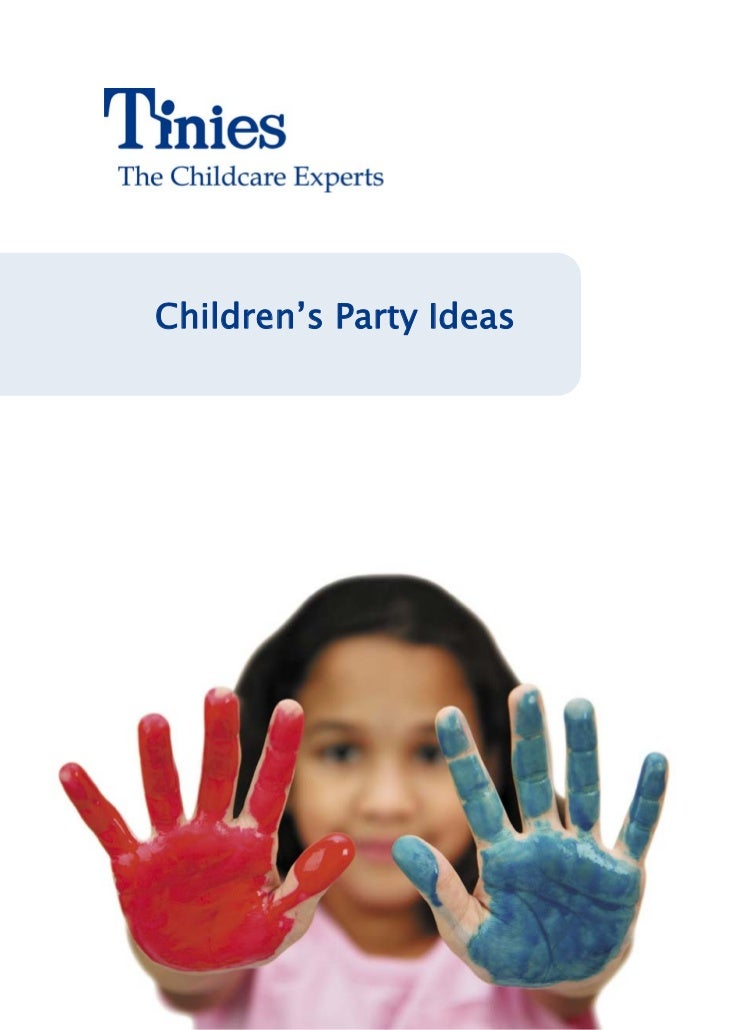 Childrens party ideas