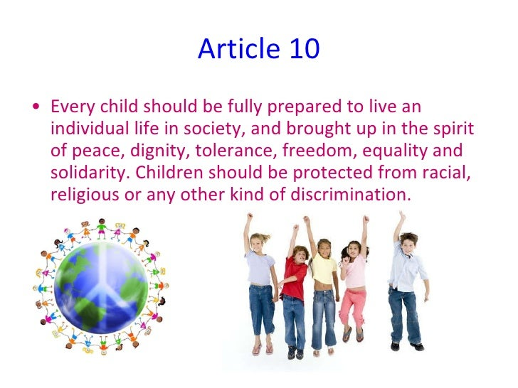 article 12 children s rights