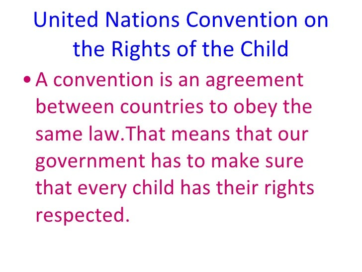 a role of the convention on the rights of the child crc
