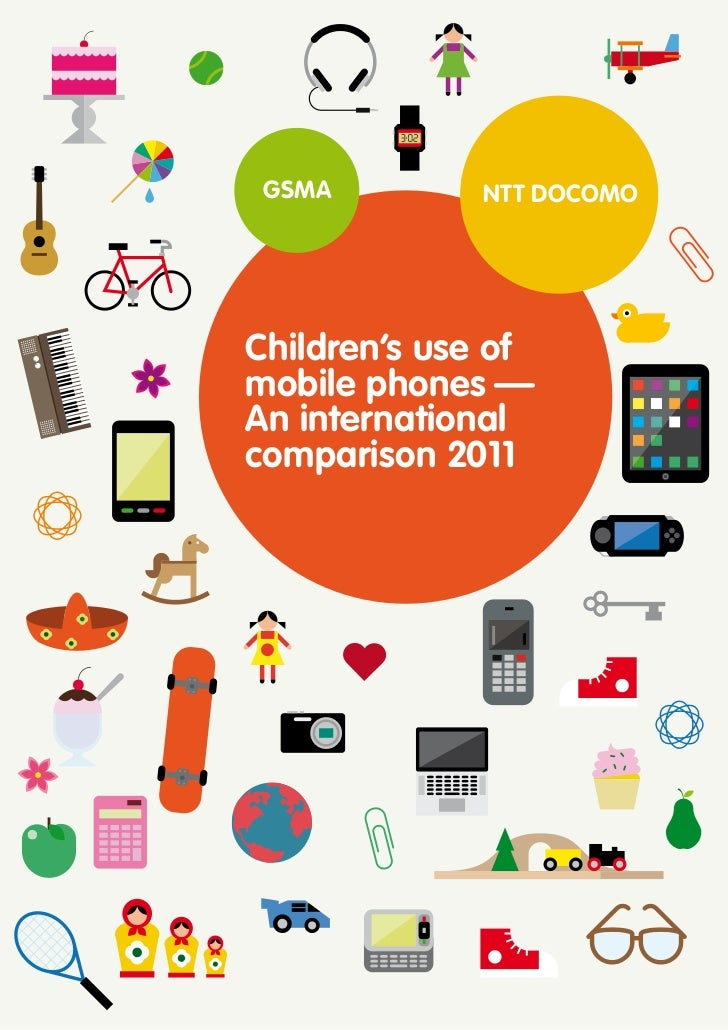 Children's use of mobile phones