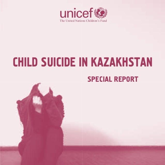 Child suicide in Kazakhstan
