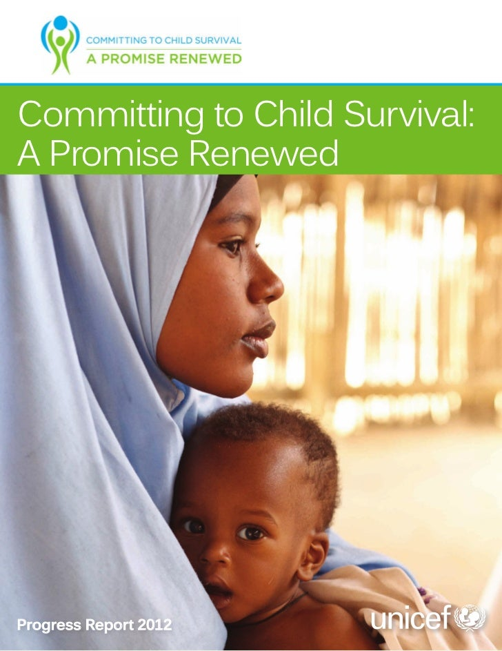 Informe UNICEF 2012 sobre mortalidad infantil