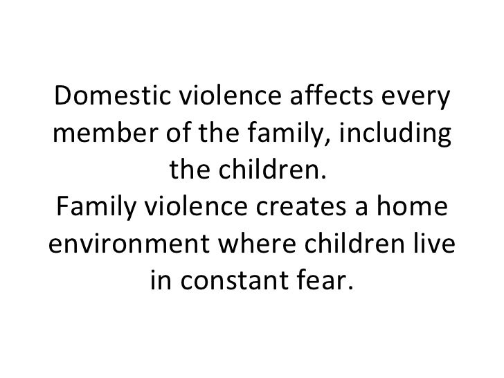 the effects of domestic violence to children and the society How cultural and social norms can support violence including clearly isolating the effects of the l female children are valued less in society than.