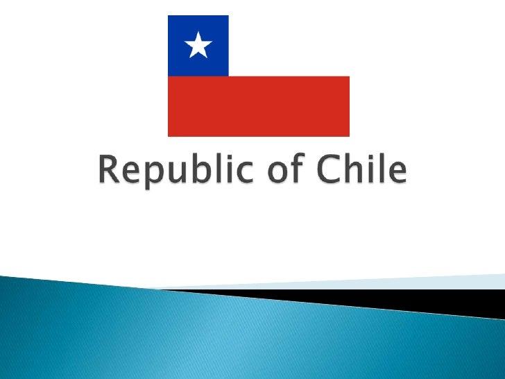 Republic of Chile<br />