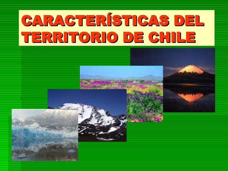 CHILE EN DATOS GENERALES.