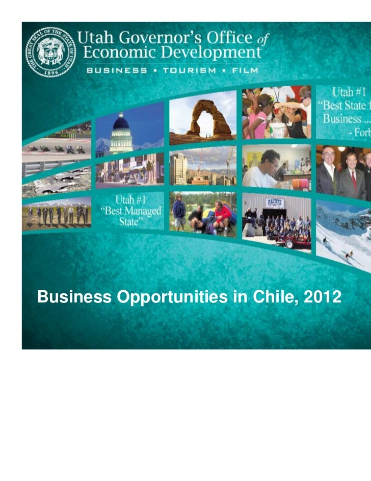 Business Opportunities in Chile in 2012