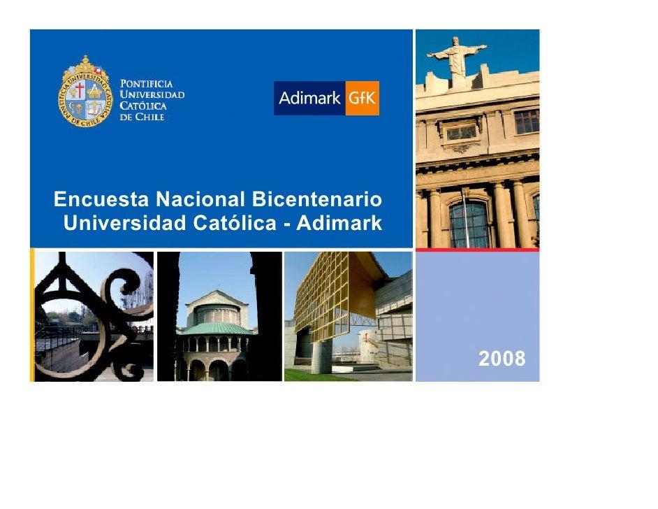 Chile Municipal - Encuesta UC Adimark