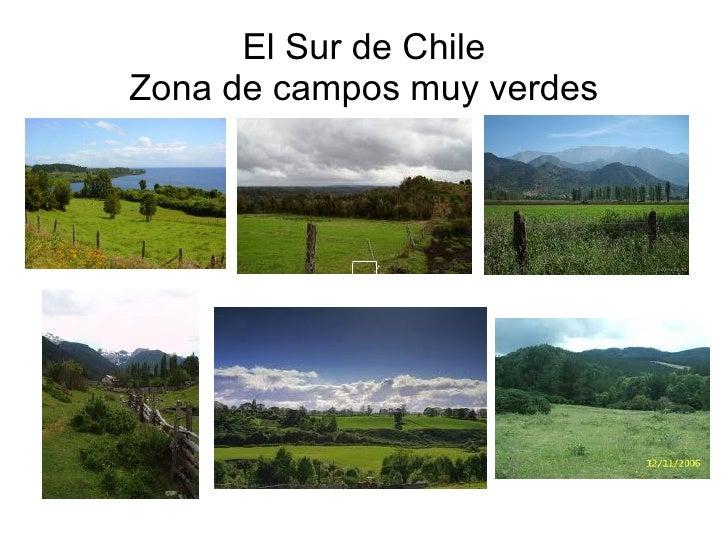 Chile zona sur for Grabado de cristales zona sur