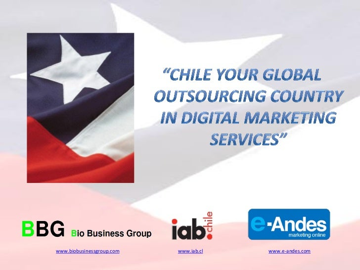 Chile a global outsourcing country in digital marketing