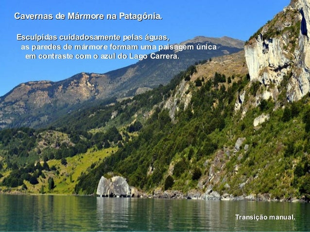 Chile cavernas de marmore patagonia