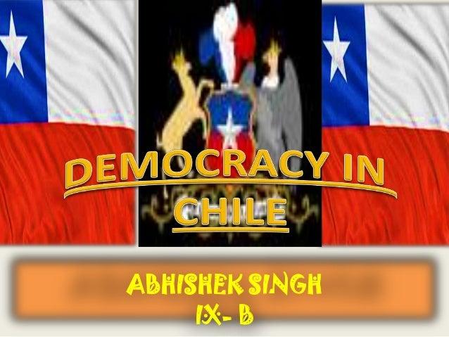 DEMOCRACY IN POLAND  ABHISHEK SINGH IX- B