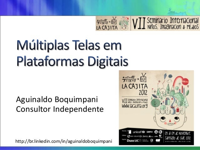 Aguinaldo BoquimpaniConsultor Independentehttp://br.linkedin.com/in/aguinaldoboquimpani