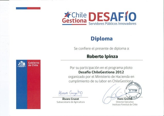 Chile gestiona