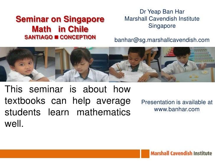 Seminar at Colegio Inmaculada Conception, Universidad Andres Bello &San  Benito School Santiago