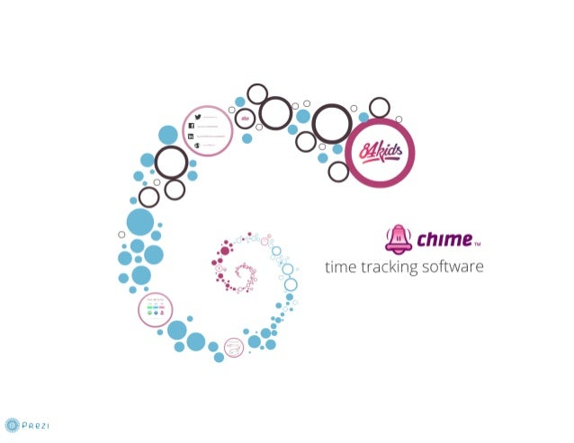 Chime time tracking software
