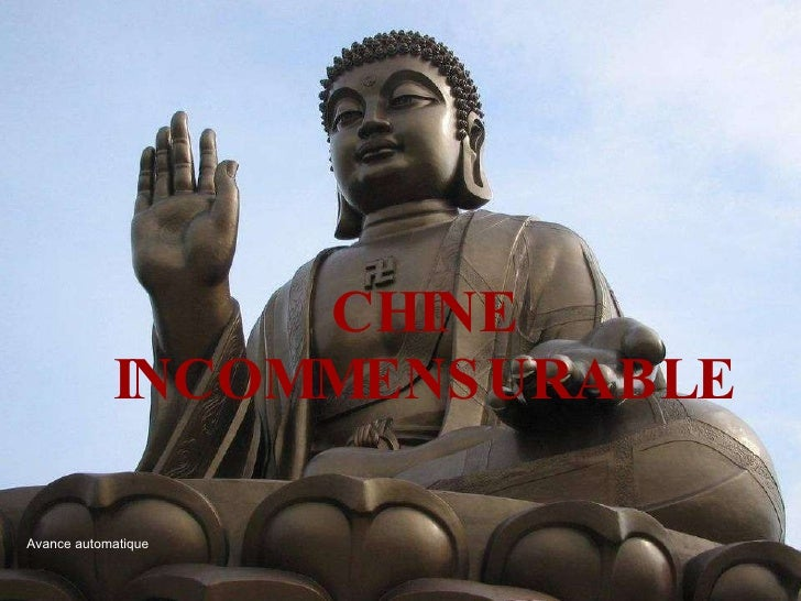 CHINE INCOMMENSURABLE Avance automatique