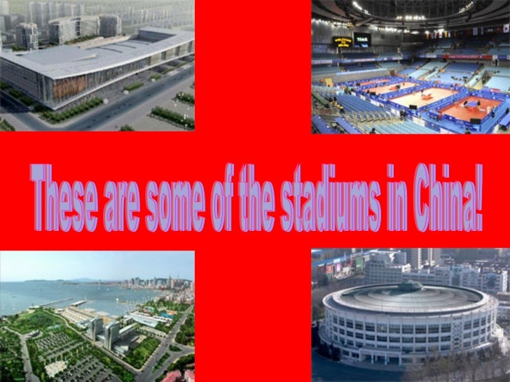 These are some of the stadiums in China!