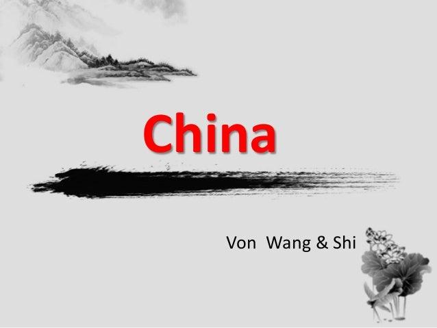 China Von Wang & Shi