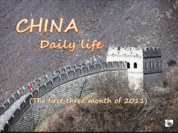 CHINA-Daily life<br />  CHINA<br />     Daily life<br />(The first three month of 2011)<br />