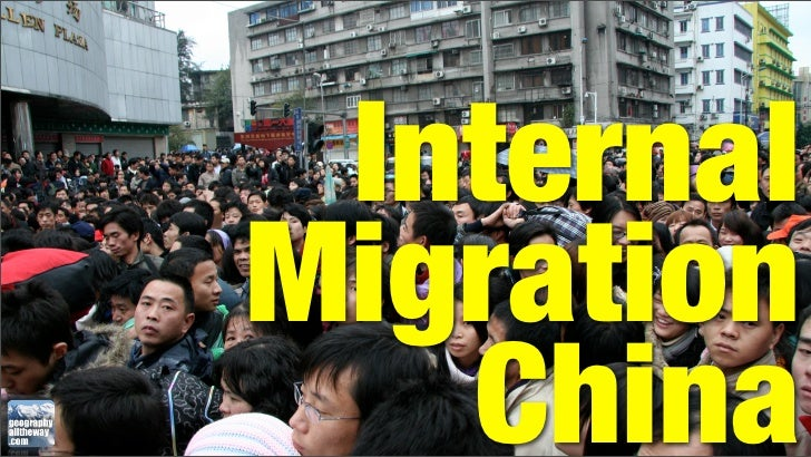 IB Geography - Patterns and Change - China's Internal Migration