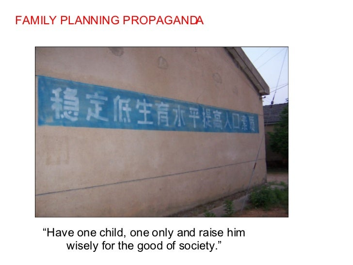 Yes on one family one child policy essay?