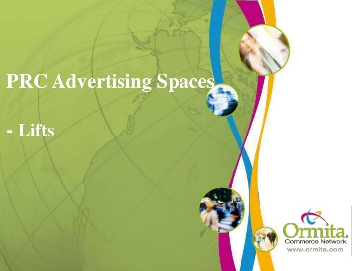 PRC Advertising Spaces- Lifts<br />