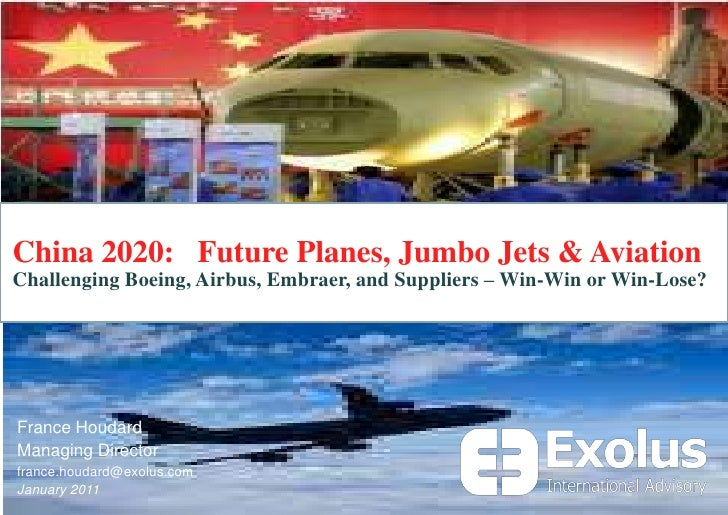 China 2020:   Future Planes, Jumbo Jets & Aviation