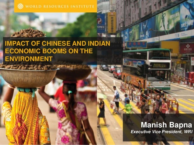 Impact of Chinese and Indian Economic Booms on the Environment