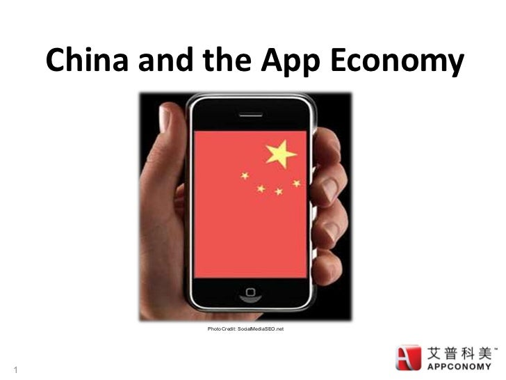 China and the app economy